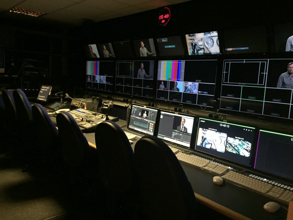 uni of sussex production room