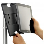 novus MY tab tablet holder detail