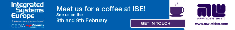Meet us for a coffee and catch up at ISE banner